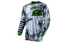 O'Neal Element Toxic Jersey Men black/green
